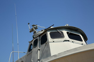 USN PCF Swift Boat Pilothouse
