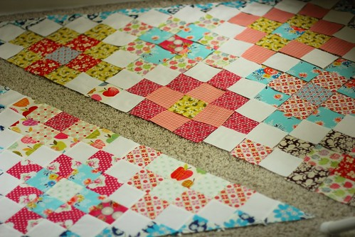 Short Trips Around the World Baby Quilt