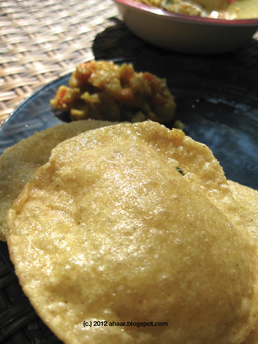 Luchi Tarkari/ Puri bhaji