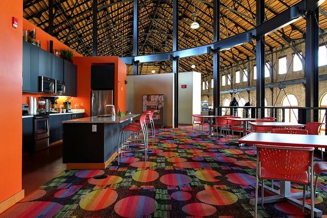 Kitchen at Zimmerman Architectural Studios
