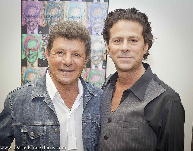Frankie Avalon and Frank Jr. in Branson at the Andy Willia ...