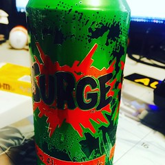 It's a #surge kind of day! #90sdrinkscomeback