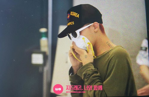 Big Bang - Incheon Airport - 15jun2015 - With G-Dragon - 01