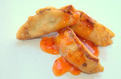 Prawn Gyoza with Sweet Chilli Sauce