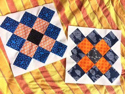 Harmony do. Good Stitches September blocks