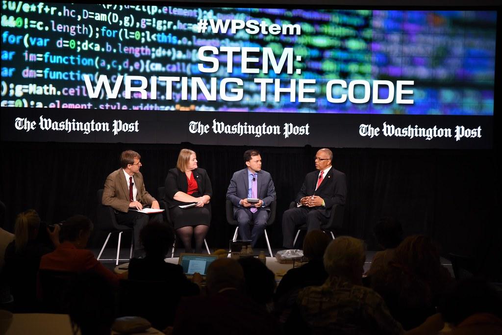 Washington Post STEM Panel | Lt  Governor Rutherford Discuss… | Flickr