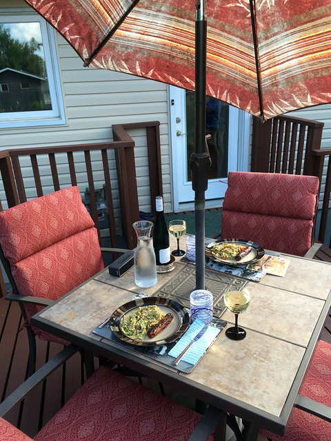 Supper on the Deck