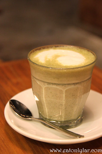 Green Tea Latte, Namoo Korean Dessert Cafe n Bistro on the Park