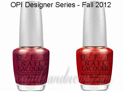 OPI Designer Series - Fall 2012