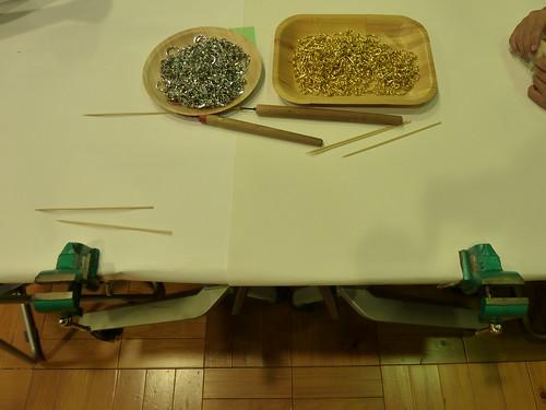 木工教室 キーホルダー作り