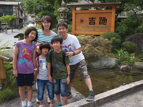 2012年の夏、箱根。