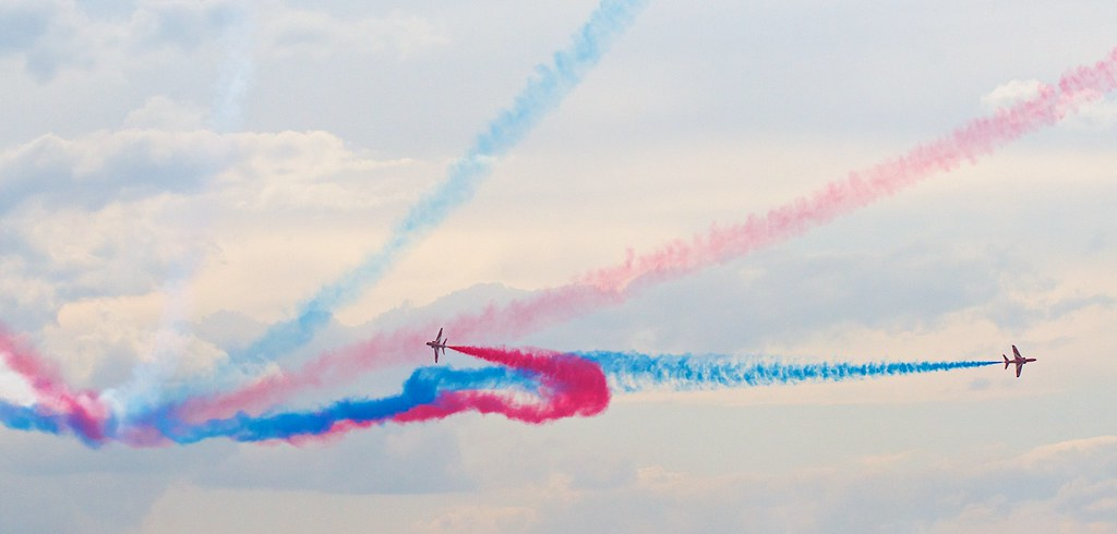 RAF's Red Arrows by Andrey Belenko, on Flickr