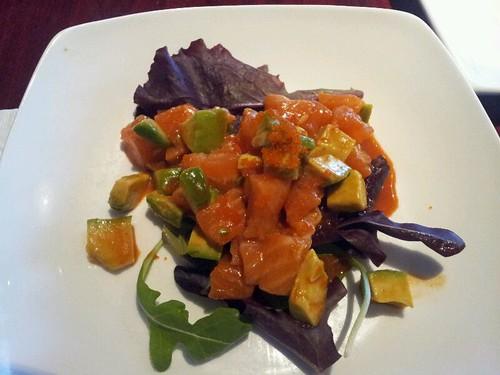 Salmon And Avocado Salad @ Koi Sushi by vegita6879