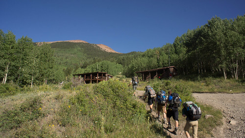 Arriving at Baldy Town