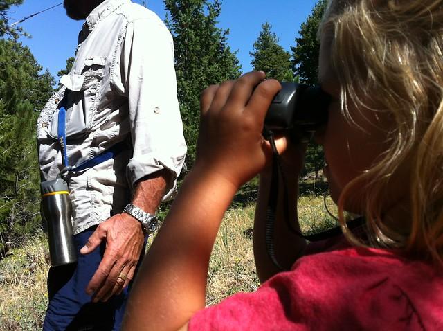 Binoculars - Hiking at Green Mountain, Boulder, CO