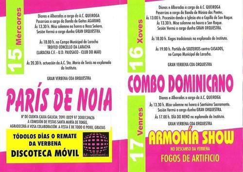 A Laracha 2012 - Festas patronais - programa