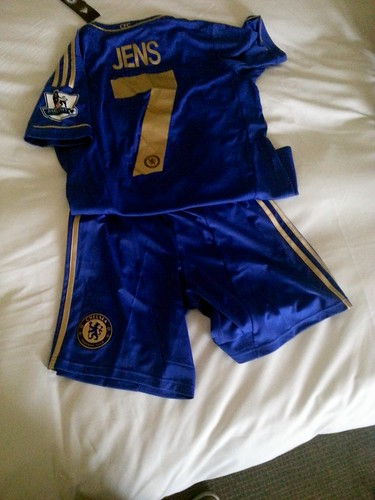 Chelsea goodies for my son