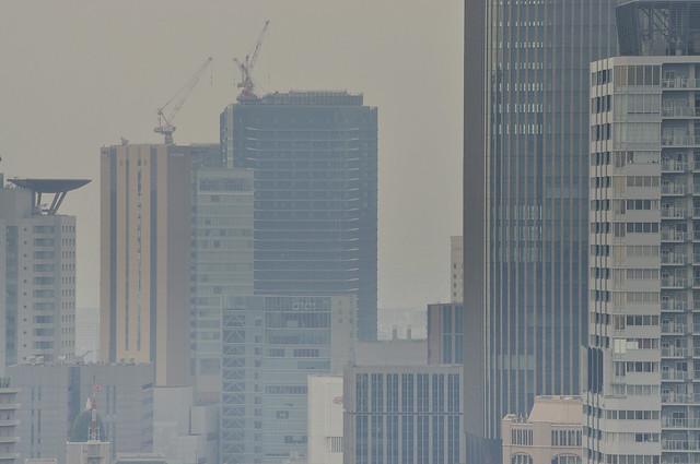 オリックス本町ビルから眺望
