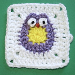 Iron Craft Challenge #16 - Owl Blanket for a Baby Bird