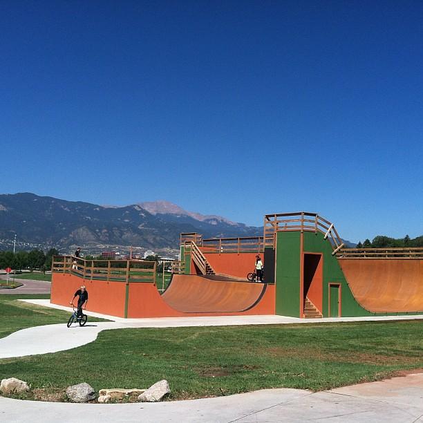 Ig new skate ramp at memorial park colorado springs - Memorial gardens colorado springs ...