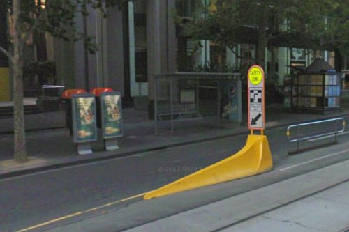 Telstra payphones before being moved to optimise adverting exposure