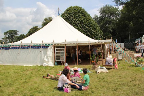 Anthropologie at Port Eliot Festival