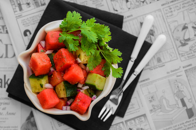 Watermelon 'Chaat' Salad