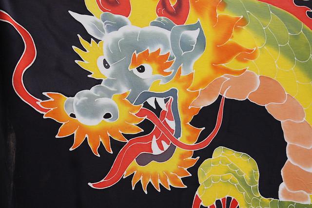 Tela de dragón