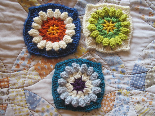 Week 11 - Popcorn Flower Grannies