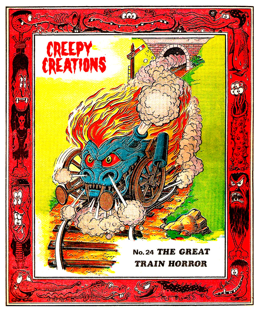 Creepy Creations No.24 - The Great Train Horror