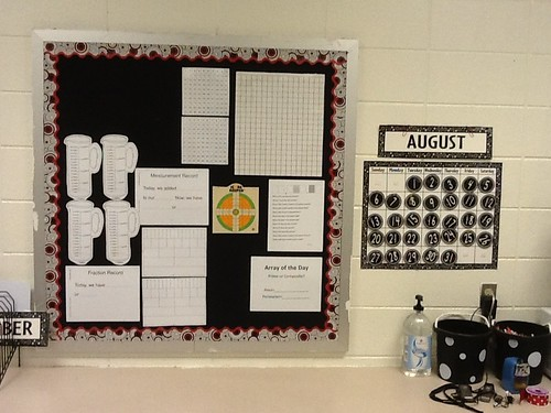 Math focus wall