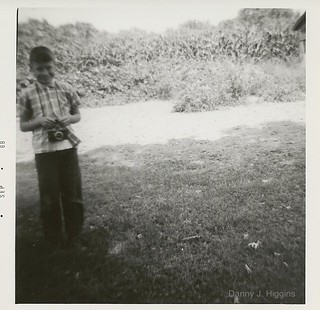 Me With My Camera.  Sept 1969.