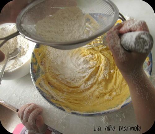 receta bizcocho nutella