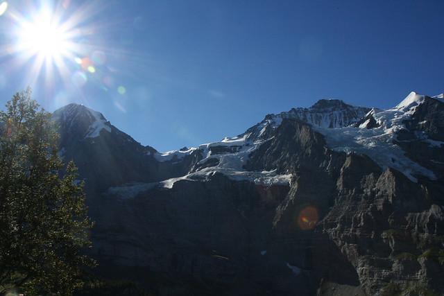 Bernese Oberland, mountain view