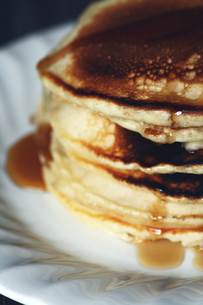 Mark's ridiculously fluffy pancakes
