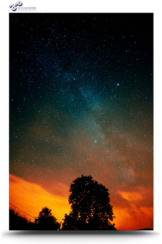 Night Sky Over Kentmere by Richard Berry Photography