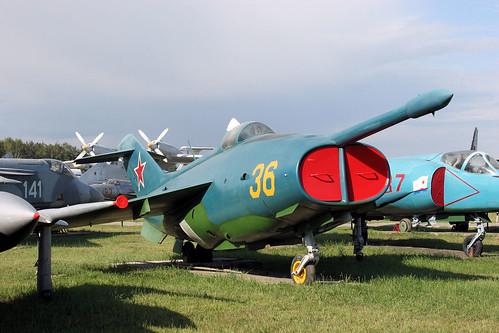 Yakovlev Yak-36 36 yellow
