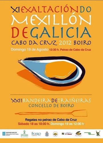 Boiro 2012 - Exaltación do Mexillón de Cabo de Cruz - cartel