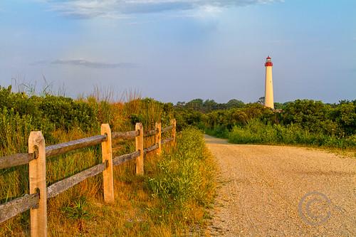 park lighthouse sunrise fence newjersey path dunes earlymorning nj fenceline capemaypointnj carlshaw canon7d endlessreach1 carlsshaw capemaypointlighthousenj