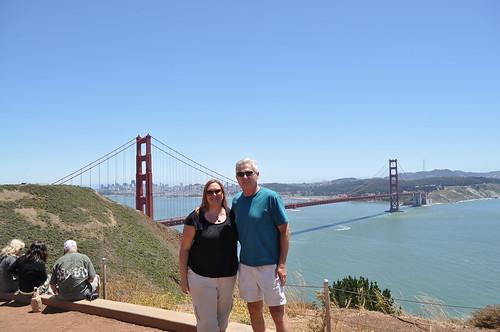 Kristi dad GG bridge
