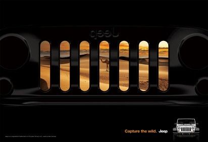 Jeep Wranger Grille Advertisement by lee.ekstrom