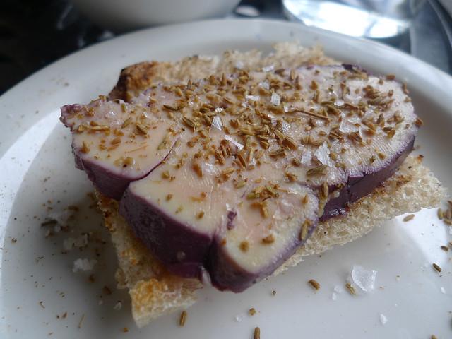 Foie Gras on Cumin Toast