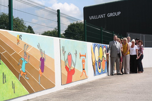 Vaillant Olympic Mural by thedropinn
