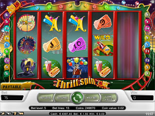 Thrill Spin slot game online review
