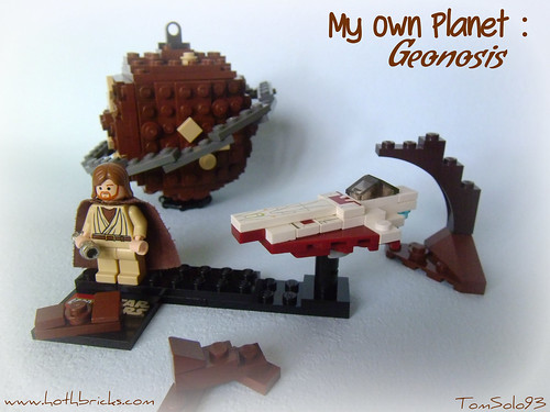 LEGO SW My Own Planet - Obi-Wan's Jedi Starfighter & Geonosis