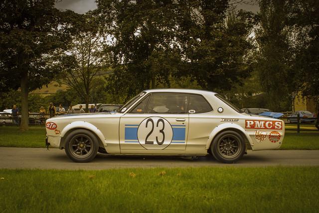 Nissan Skyline Kpgc10 Gtr Hakosuka Race Car Flickr