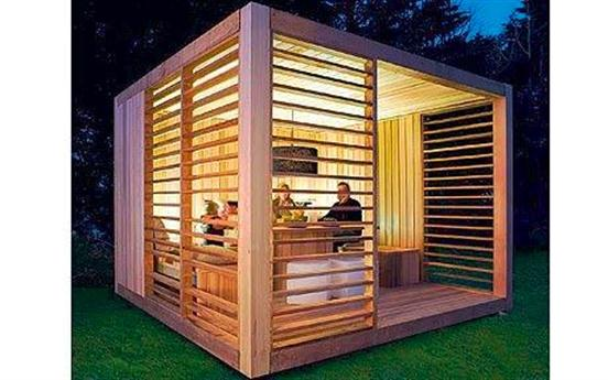 Ecospace shed ecofriendly modern Garden Shed design a photo on