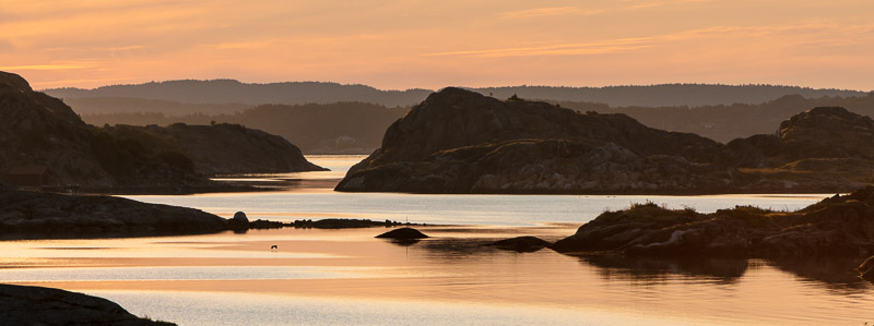 Morning sun in the archipelago
