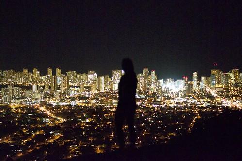 Honolulu City Night Lights
