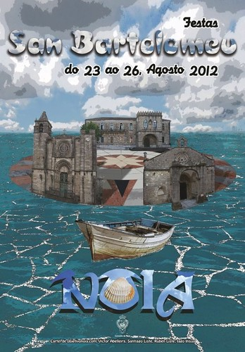 Noia 2012 - Festas de San Bartolomeu - cartel